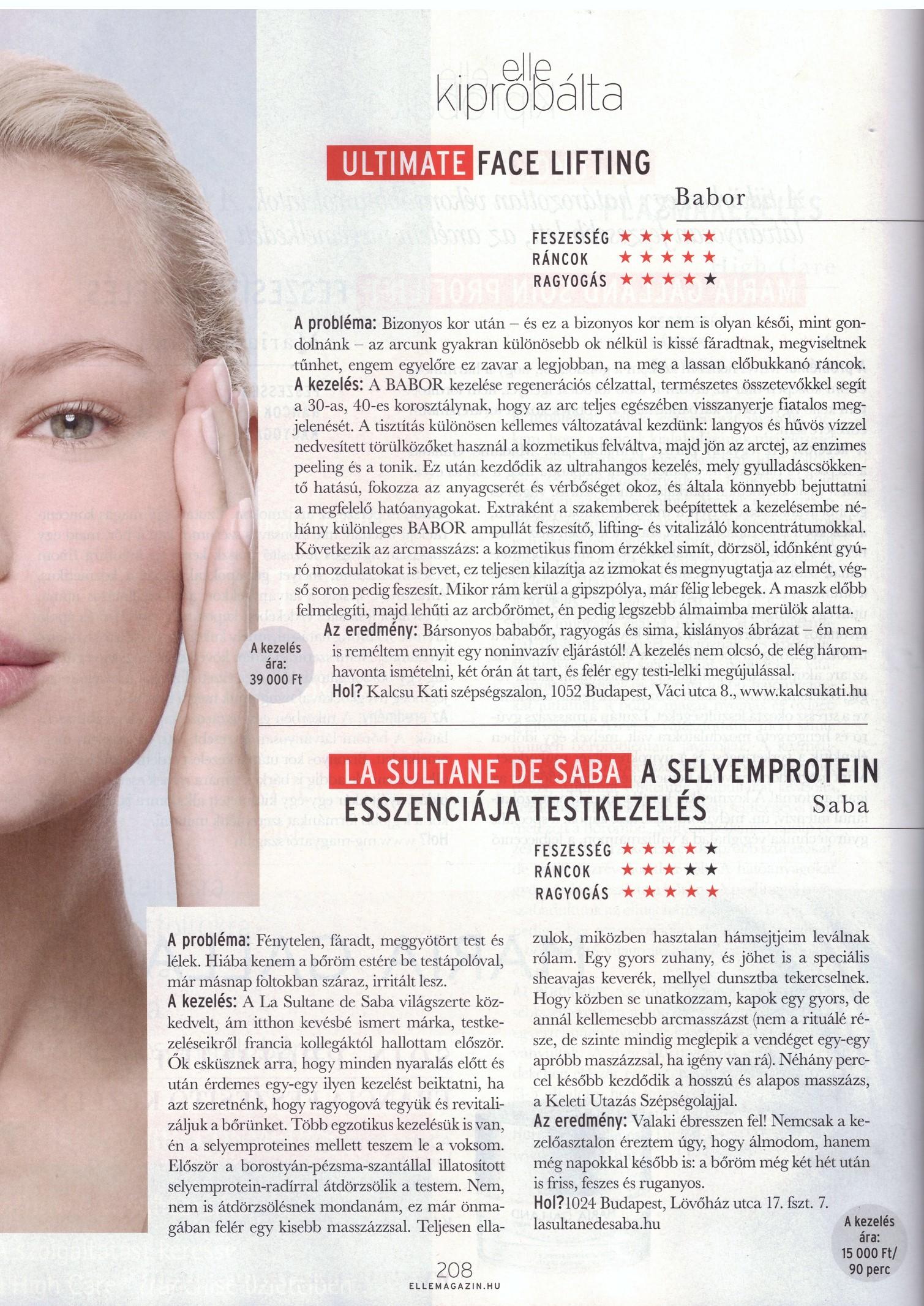 Elle Silk Protein Article Nov 2017